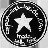 Aufkleber-Motiv (made with love)